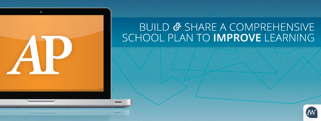 Build and share a comprehensive school plan to improve learning