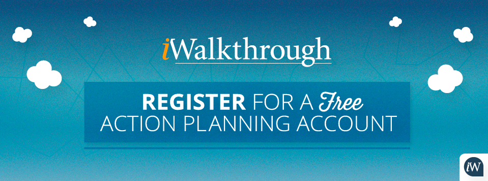 Register for a free action planning account